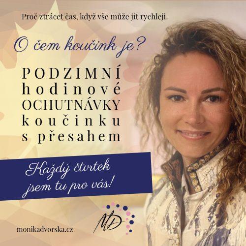Monika Dvorská - podzimní nabídka